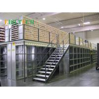Quality Q235 Steel  Mezzanine Floor Racking System  High Capacity Multi-layer  Space Saving for sale
