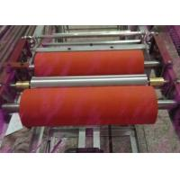 Quality industrial rubber roller Factory customized low price silicone rubber rollers for printing or pipe coating for sale
