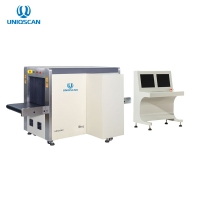 Quality Hotel Security X Ray Baggage Scanner 40AWG SF6550 Dual Energy for sale