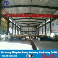 Quality Wireless Reomote Control Type Crane Width Customized Electric Overhead Traveling Crane for sale