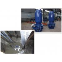 Industrial Electrical Submersible Slurry Pump With Anti Abrasive Material 50hz /