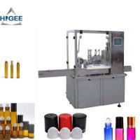 Quality Automatic Cosmetic Liquid Filling Machine 15ml Bottle Volume CE Certification for sale