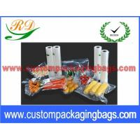 "Quality Clear PA + NY Compound Vacuum Seal Bags For Vegetables Packaging 6"" x 9"" for sale"