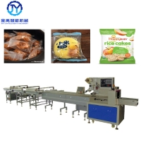 Quality 2.4KW 200bags/Min SUS304 Automatic Packing Machine For Rice Cake for sale