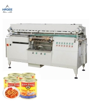 Quality anned white kidney bean labeling machineardine labeling machine mung bean sprout canned labeling machine for sale