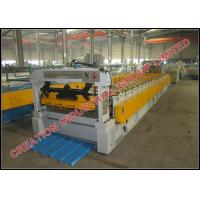 Quality Trapezoid Shape Steel / Aluminium Roof Panel Roll Forming Machine 1200 meters / hour for sale