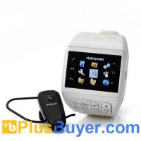 Best Quartz - Dual SIM Cell Phone Watch with Keypad (1.33 Inch Touchscreen, Bluetooth, 4GB) wholesale