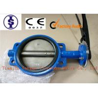 """Quality Lug / U / Grooved Type Wafer Butterfly Valves , Water Mannual Butterfly Valve 2"""" - 24"""" for sale"""