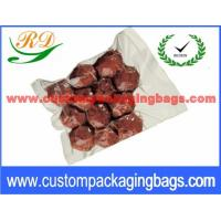 Quality Transparent NY / PE Material Vacuum Sealing Bags With Hot Seal for sale