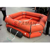 Quality 4 / 6 / 8 Person Inflatable Life Raft Leisure Inflatable Raft For Emergency for sale