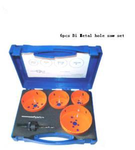Quality JWT 6PCS HSS Bi Metal Hole Saw Set for sale