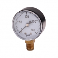 """Quality Water pressure gauge with 2"""" dial face. for sale"""