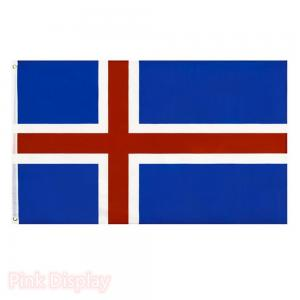 Quality L3ft Iceland CMYK Advertising Banner Flags for sale
