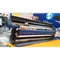 Quality 3 pcs Epson DX7 head Large Eco solvent printer in 1.8M for Stretch Ceiling Film and Wall Paper for sale