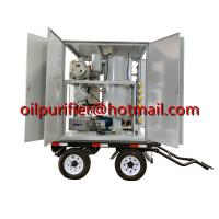 Buy Mobile transformer oil filtration plant, weather-proof transformer oil at wholesale prices