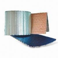 Quality Bubble Foil Insulation, Used for Wall, Roof and Attic, with Fireproof Feature for sale