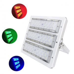Quality Outdoor RGB LED Flood light 120W with high efficiency for 3 years warranty. for sale
