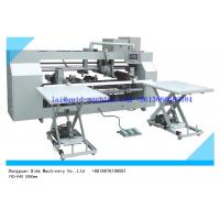 semi auto 2 piece joint stitcher for corrugated box