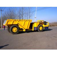 Quality LPDT Underground Load Haul Dump Truck Low Profile Dump 33km / h for sale