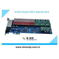 Best Hot Sale 16 Port fxs fxo Asterisk Card with PCI-E wholesale