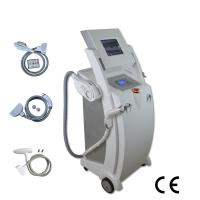 Quality White IPL SHR RF ND YAG LASER IPL Beauty Equipment Vertical Type for sale