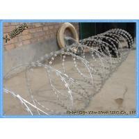 China Hot Dipped Galvanized Concertina Razor Barbed Wire 15 Meter Length on sale