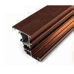 Quality Durable Aluminum Window Parts , Mechanical Polishing Custom Aluminum Profile for sale