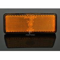 Quality Yellow 24 LED Brake Lights With Clear Lens , Custom Motorcycle Brake Light for sale
