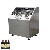 Quality 750 ml wine waxing sealing machine with glass bottle luxury wine red wine was sealing machine with vodka gine liquor for sale