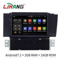 Quality Android 7.1 Citroen Car Stereo DVD Player With FM AM RDS DAB MP3 MP5 for sale