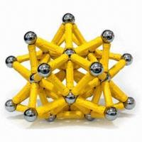 Quality Magnetic Construction Toys, Good to Enhance Children's Understanding, Can Build Up Anything for sale