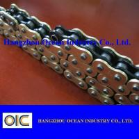 Quality Custom 520 X Ring Motorcycle Chain With Black Inside Yellow Outerside for sale