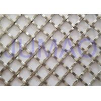 Quality 10 Mm Textured Cabinet Grille Inserts, Bright Metal Mesh Panels For Cabinets for sale