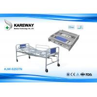 Buy cheap Two Cranks Manual Care Bed With Portable Folding Easy Take For Home Use from wholesalers