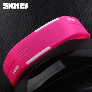 Quality Unisex Stylish Thin LED Digital Wrist Watch Multifunction Bright Backlight for sale
