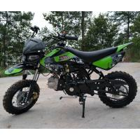 China 125cc Dirt Bike Motorcycle 4 Speed Dirt Bike With CDI Electric / Kick Start on sale