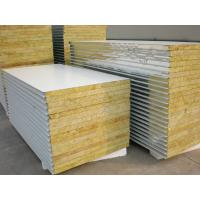 Best Rock Wool Insulated Steel Prefab House For Steel Structure Panels wholesale