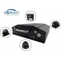 Quality RS232 720P 4G 4 Channel Mobile DVR Onboard Cameras Inputs Bus Router With Hard Drive for sale