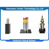 Quality Security Machine Automatic Hydraulic Rising Lifting Bollard With ISO CE Certificate for sale