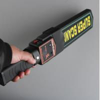 Quality Light / Voice Alarm Walk Through Metal Detector , Hand Held Metal Detector Wand for sale