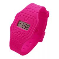 Quality bracelet toy Flat Silicone Digital ops Watch for swimming for sale