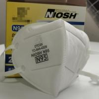 Quality Non Woven Respirator N95 Face Mask Protective Good Air Permeability for sale