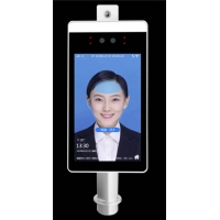 Quality AI Face Recognition Body Floor Standing Temperature Scanner for sale