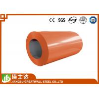 Quality Orange Green Offering Prime Color Coated Steel Coil With Polyester / PE Coating for sale