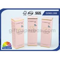 Best Printing Coated Paper Custom Skincare Packaging Box with Gold Hot Stamping for Toner wholesale