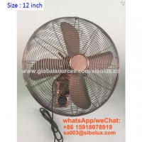 Quality 12 inch deluex vintage wall fan for office and home appliances/Ventilador de pared for sale