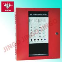 China DC24V 16 zones conventional fire fighting alarm systems control panel on sale