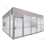 Quality 220V 60HZ Prefab Cleanroom Booth / Class 100 Softwall Modular Cleanrooms for sale