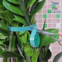 Quality Double Sided Reusable Cable Ties Hook And Loop DIY Cutting Adjustable Plant Ties for sale