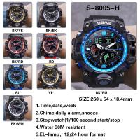 Quality Fashion Date Alarm Digital Quartz Wrist Watch Water Resistant 3ATM for sale